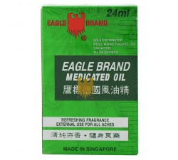 Medicated Oil 24ml - Eagle Brand
