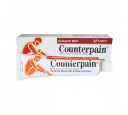 Cream counterpain hot