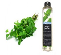 Peppermint massage oil 150ml