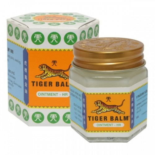 White tiger balm and its packaging