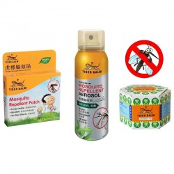 Tiger balm mosquito repellent pack