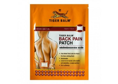 Tiger balm patch back pain