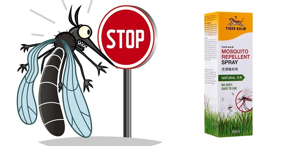 Tiger balm spray stop mosquitoes